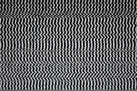 Analog TV Static Distortion