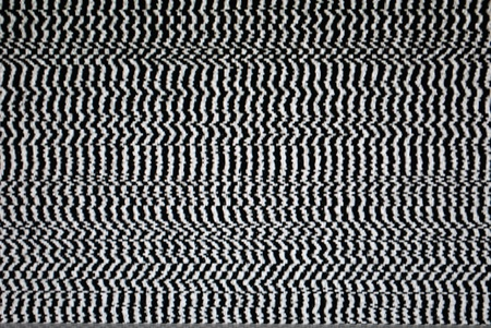 Analog TV Static Distortion