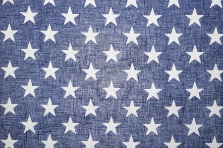 Back Lit Star Field of the flag of the United States  Stock Photo