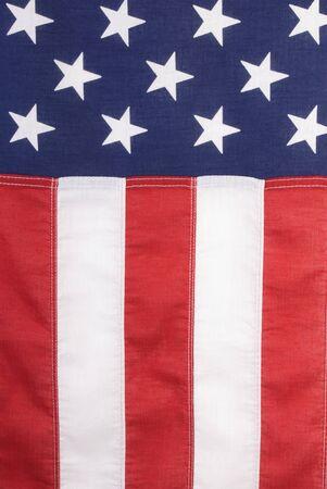 United States Flag Banner Stock Photo