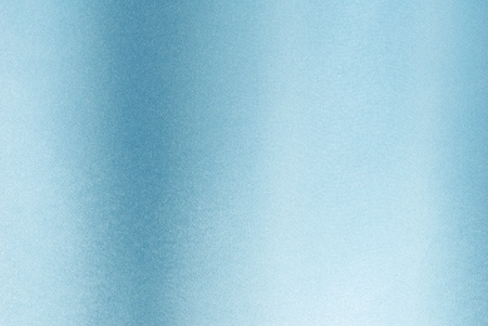 Close-up of light blue satin fabric showing detail Stock Photo