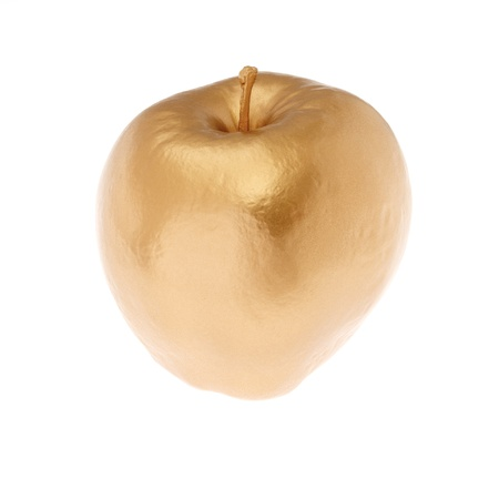 An Apple Gilded with Gold