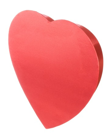 Red Satin Valentines Heart