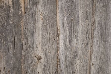 Wood Siding of an Old Barn in Close-up Stock Photo
