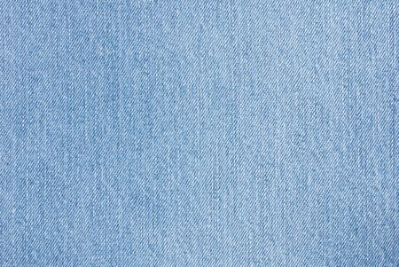 Close Up of Blue Denim Cloth for use as a Background or Wallpaper Stock Photo