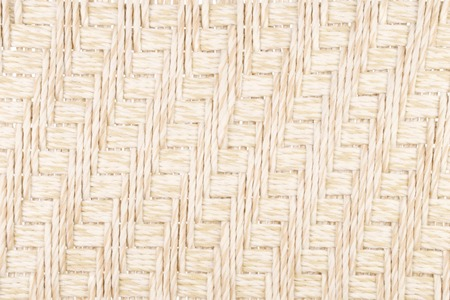 Woven Light Brown Nylon Cord as a Background or Wallpaper Stock Photo