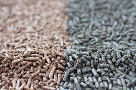 biomasse: Pine and Sunflowers  pellets