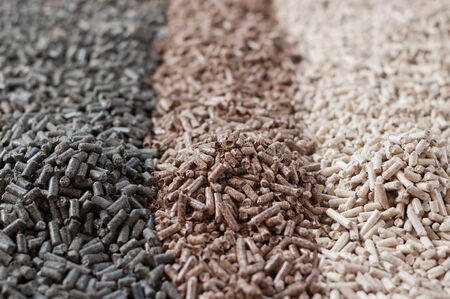 biomasse: Different kind of pellets