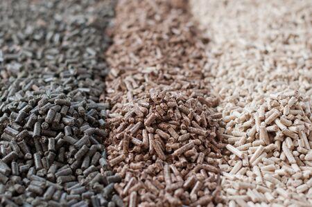 Different kind of pellets
