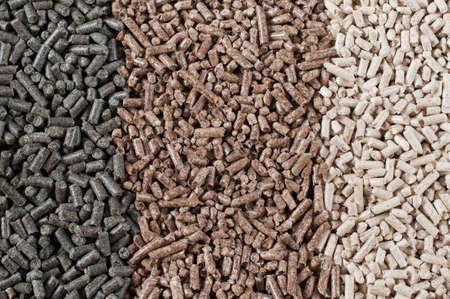 pellet gun: Different kind of pellets- pine,beech,sunflower
