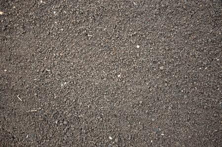 Soil- photography, humus soil, litlle lumps Foto de archivo