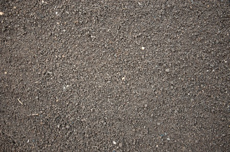 extreme angle: Soil- photography, humus soil, litlle lumps Stock Photo