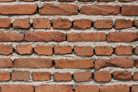 An old brick wall- color image photo