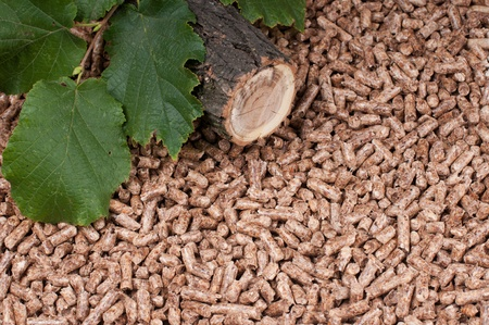biomasse: Oak pellets and materilas pellets made