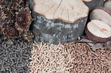 holzbriketts: Drei Arten von Pellets und Materialien aus