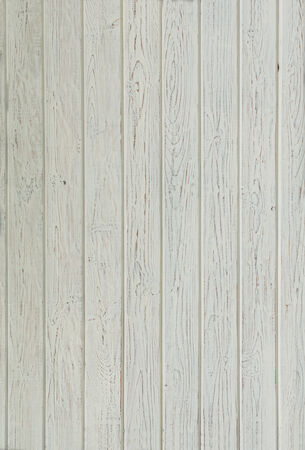 Part of old white wooden wall photo