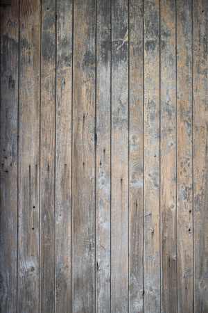 wood floor: Part of an old blue wooden door