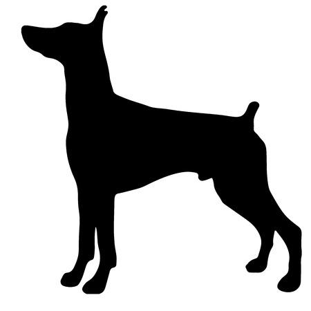 Black dog icon.