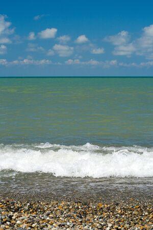 Sunny day. Sea.