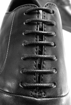shoes laces Stock Photo