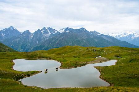 svaneti: Qoruldi Lake, Svaneti