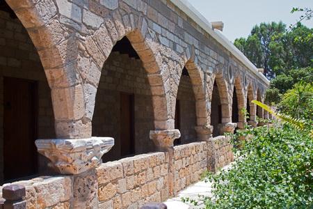 arcs: Stone arcs Stock Photo