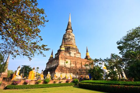 Old Pagoda in Thailand photo