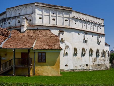 Fortified church in Prejmer, Romania
