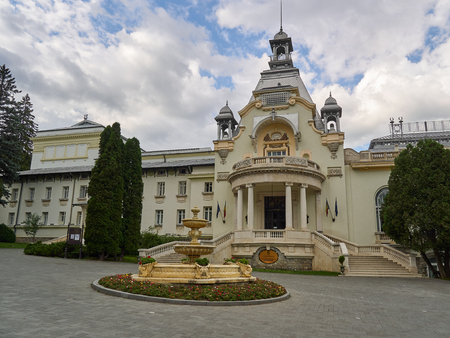 Sinaia, Romania - 7282017: The former Casino in Sinaia in nowadays a conference center and venue for private events Editorial