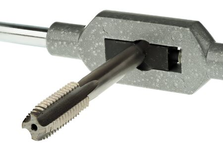 A tap is used to create the nut part of a thread (inner thread)