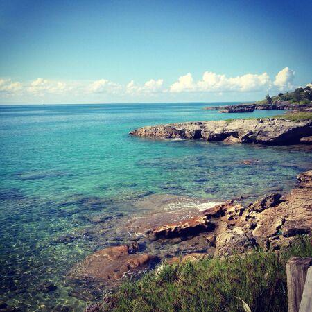 bermuda: Beautiful Bermuda Coast Stock Photo