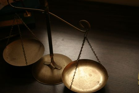 fair trial: Scales of Justice