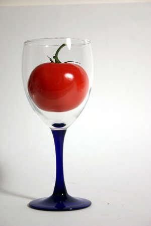 Tomato in a Glass Stock fotó - 2753245