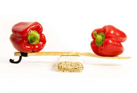 alimentacion balanceada: alimentaci�n equilibrada Foto de archivo