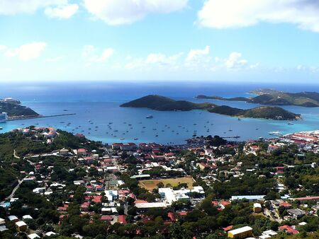 View of Charlotte Amalie from Paradise Point - St  Thomas, Virgin Islands