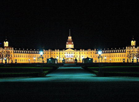 The Karlsruhe Palace  Karlsruher Schloss  was built in 1715 as the residence of Margrave Karl Wilhelm of Baden-Durlach Editorial