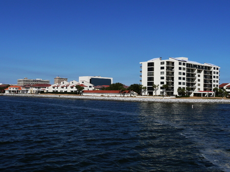 pensacola: View of Port Royal and the downtown business district in Pensacola, Florida