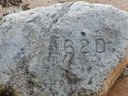 plimoth: Plymouth Rock is New England Stock Photo