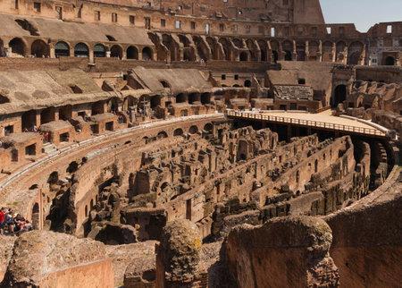 emporium: Tourists visiting the Roman Colosseum - Rome, Italy