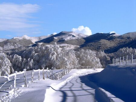 The south-west of the Auvergne region Cantal department is home to several ski resorts