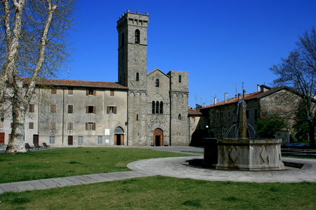 abbazia: The Abbey of the Saviour Italian: Abbadia San Salvatore is an abbey in the town of Abbadia San Salvatore, Tuscany, Italy, which is named after the Abbey