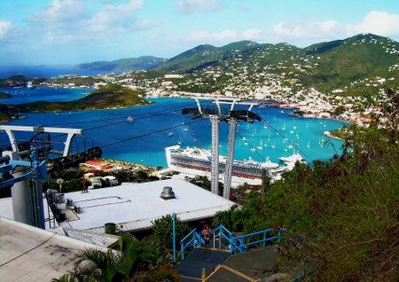 thomas: St. Thomas Skyride to Paradise Point - Thomas, U.S. Virgin Islands