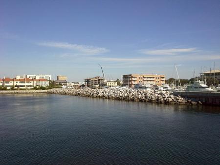 Downtown Pensacola and bay - Pensacola, Florida