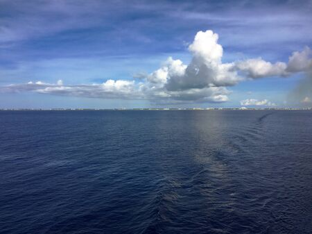 View of the Western Caribbean Sea