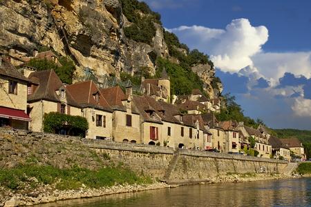 Village of La Roque-Gageac, France