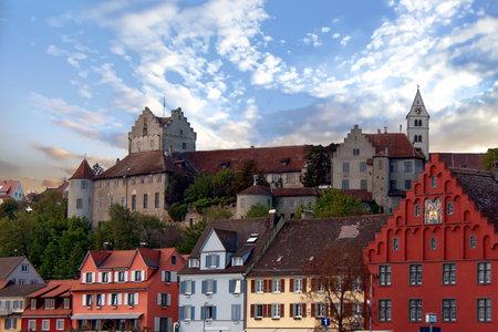 View of Meersburg and castle - Meersburg, Germany
