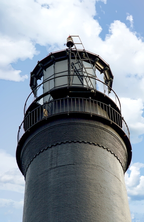 A view of the Pensacola Lighthouse , Naval Air Station , Pensacola , Florida