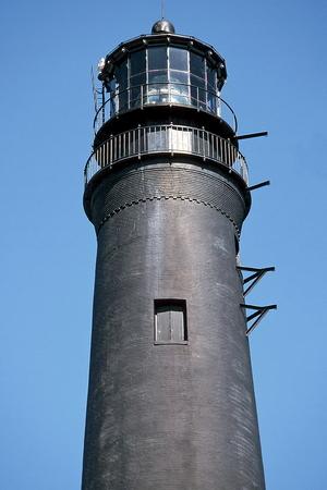 A view of the Pensacola Lighthouse , Naval Air Station , Pensacola , Florida Stock Photo