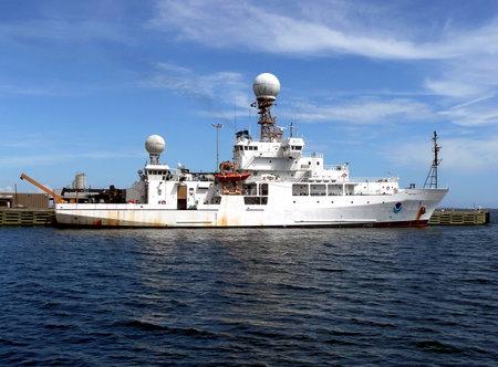 NOAA, Ocean Explorer docked at the Port of Pensacola - Pensacola, Florida