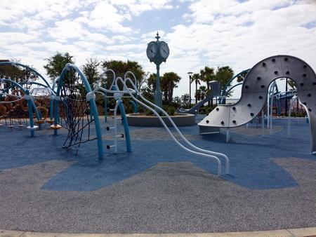 Close-up of a playground at the Maritime Park - Pensacola, Florida Standard-Bild - 115064610